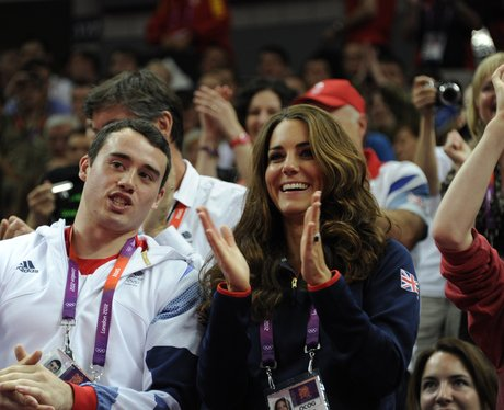 Kristian Thomas and kate middleton