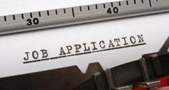 Job application (image courtesy of Getty)