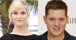 Reese Witherspoon and Michael Buble