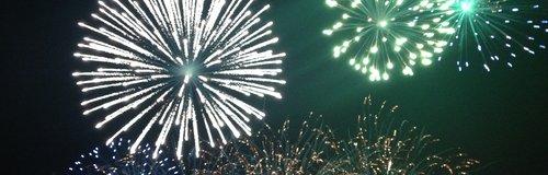 Firework Display in Pirton, Hertfordshire.