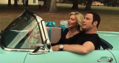 John Travolta and Olivia Newton John music video D