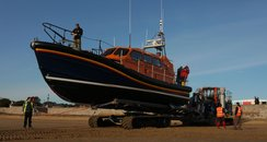 Exmouth hosts new modern lifeboat