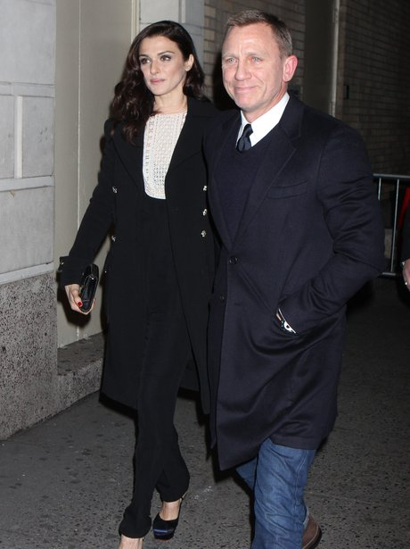 Rachel Weisz and Daniel Craig in New York