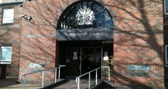 Norwich Magistrates Court front door