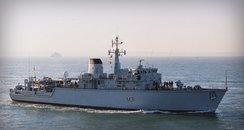 Portsmouth-based HMS Cattistock