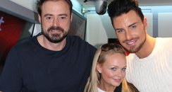 Rylan with Jamie and Emma