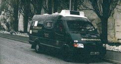 Maher Securicor Van 1993