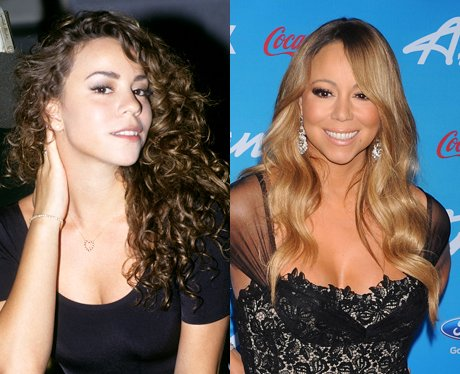Mariah Carey With Curly And Wavy Hair Celebrities Hair