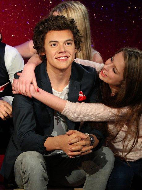 Harry Styles waxwork in Madame Tussauds London