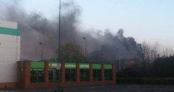 Watford Junction office block fire