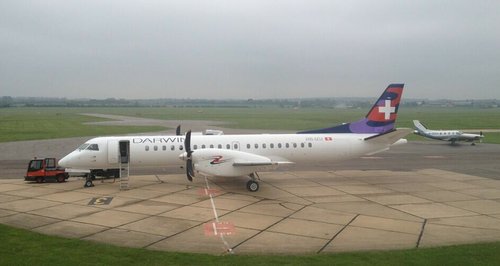 Cambridge Airport Darwin Airlines Aircraft