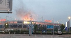 Ricoh Arena Muse pyrothechnics