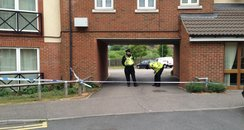 Saturn Road, Ipswich, Murder Cordon