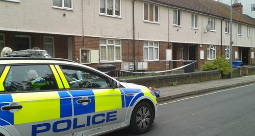 Ipswich body found - house cordoned off