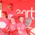 Race for Life Ipswich 2013 - The Heart Zone