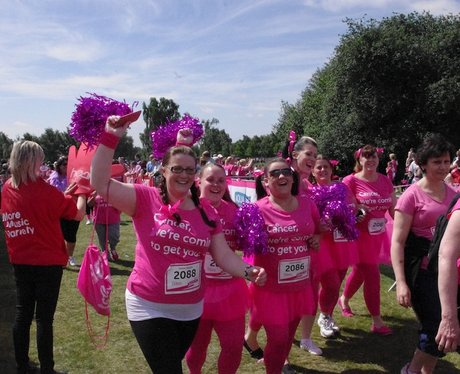 Looking Great at Sutton Coldfield Race for Life Su