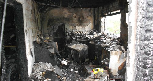 Family saved by smoke alarms