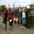 A-Level results day at Long Road Sixth Form Colleg