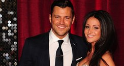Mark Wright And Michelle Keegan on red carpet