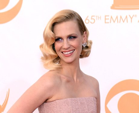 January Jones attends the 2013 Emmys