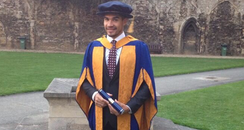 Louis Smith is made an Honorary Doctor of Health S