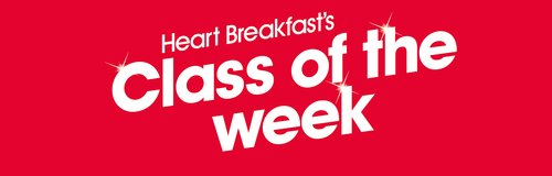 Heart Breakfast's Class of the Week