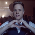 Olly Murs behind the scenes of the new Heart TV ad