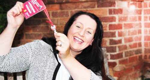 Heart House Key Winner Rachel from Shirley