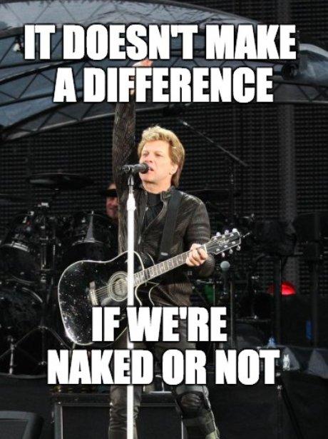 Funny Meme Bon Jovi : Bon jovi living on a prayer the funniest misheard