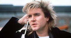 Simon Le Bon with a mullet
