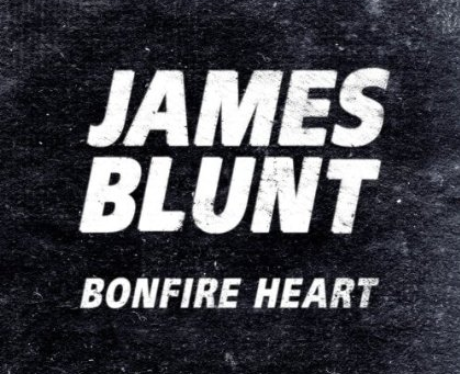 James Blunt 'Bonfire Heart' single cover