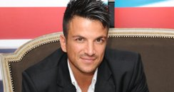 Peter Andre in a suit