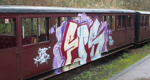Bure Valley Railways Vandalism