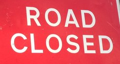 Road Closed Sign Generic