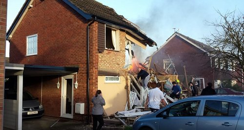 Clacton Explosion Picture: Jay Readings