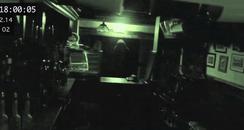 Ghost haunting a pub