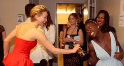 Jennifer Lawrence and Lupita Nyong'o Oscars