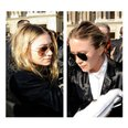 Olsen sisters in Aviator sunglasses