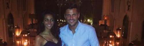 Michelle Keegan and Mark Wright in Dubai