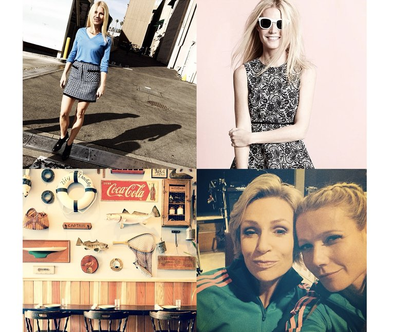 Photos from Gwyneth Paltrow's Instagram