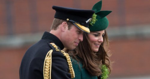 William and Kate in Hampshire on St Patrick's Day