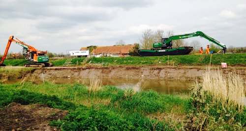 Dredging on the Somerset Levels