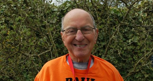 Paul is the oldest man to run the London Marathon
