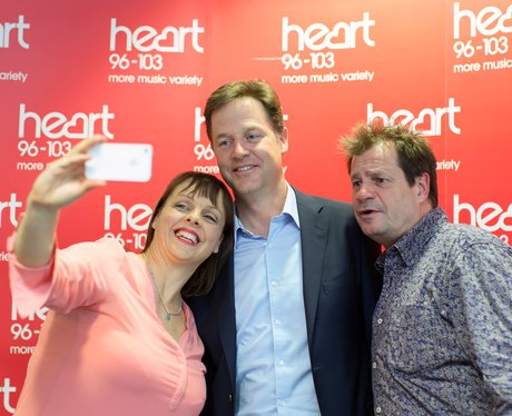 Nick Clegg Meets Martin And Su