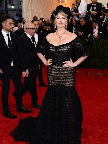 Kate Upton Met Gala 2014