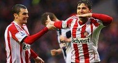 Sunderland Borini and Johnson