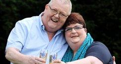 Lottery winners Colin & Chris Weir