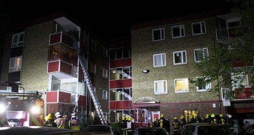 Southampton York Close flat fire