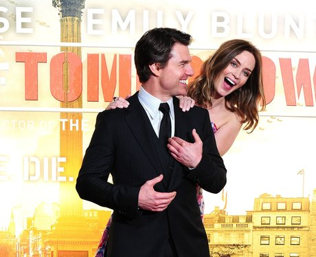 Emily Blunt and Tom Cruise film premiere in London