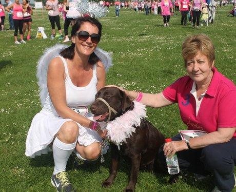 Sunday Swindon Race for Life Happy Dogs 2014